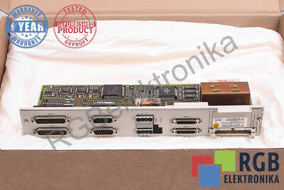 6Sn1118-0Dm13-0Aa1 Version B Control Block Simodrive Siemens 12M Warranty Id5815