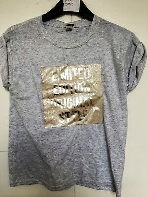 BNWT River Island T Shirt. 'Limited Edition'.  Girls. Age 3-12 Years