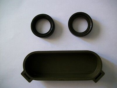Bausch & Lomb binocular 7 x 50 Navy eye piece protector & 2 Navy eye guards