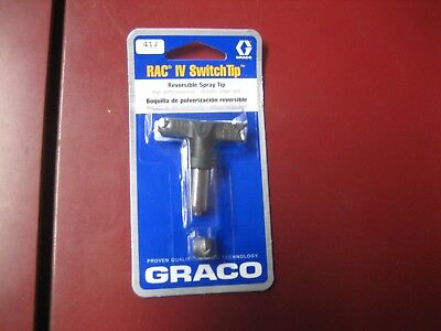 New Graco Rac Iv Switch Tip 417 Reversible Spray Tip