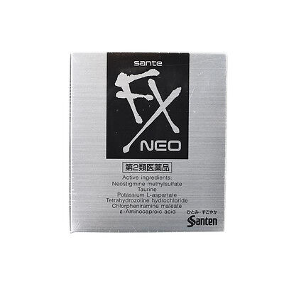 Santen FX Neo Santen Medicated  Vison Care Cooling Eye Drops Refreshing Eyes