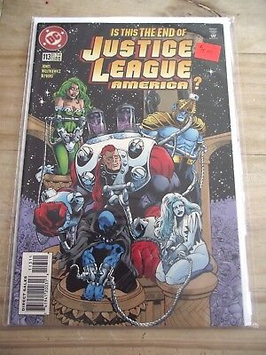 Justice League America #113 (last issue) DC (1987) VF