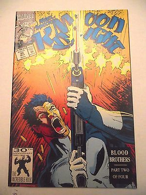 Marc Spector Moon Knight #36 Blood Brothers Part 2 Punisher FN/VF