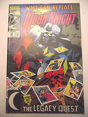 Marc Spector Moon Knight #47 The Legacy Quest FN/VF