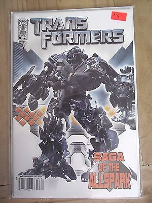 IDW Transformers Saga of the Allspark #3 Cover B VF