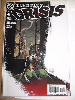 DC Identity Crisis #5 (of 7) Michael Turner cover VF