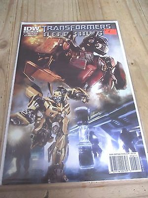 IDW Transformers Nefarious #6 cover A VF