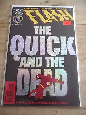 Flash #100 Terminal Velocity Finale The Quick and the Dead 1995 VF
