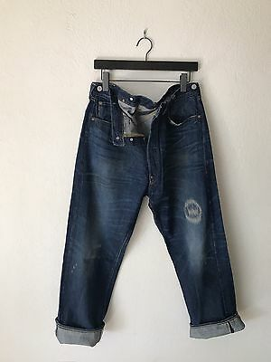 1933 501 Levis Vintage Clothing LVC Made In USA Selvedge Blue Eagle