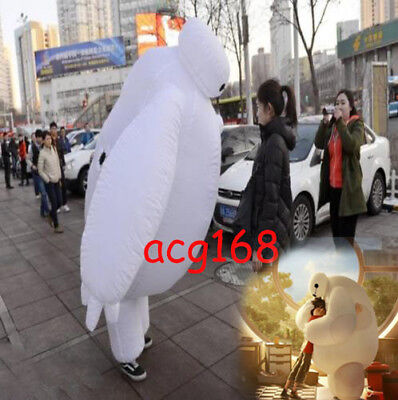 Baymax Parade Costume Inflatable Mascot Big Hero 6 Halloween Cosplay Dress Adult