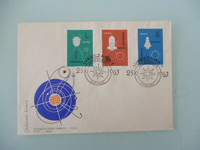 Poland  1963  fdc space cover