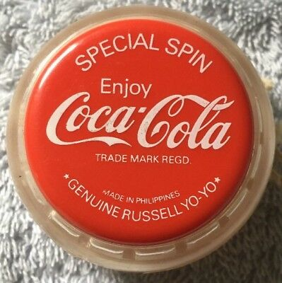 New Coca Cola Yo Yo Yoyo Special Spin 1981 Russell New Old Stock Unused
