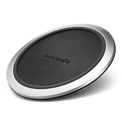 BlitzWolf® Fast Charge Qi Wireless Charger for iPhone X 8 Plus Samsung S8 Plus