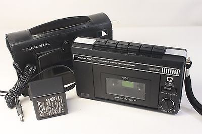 REALISTIC CTR-48,vintage personal cassette player/recorder (ref 931)