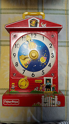 Fisher Price singing clock vintage look-a-like, NWOT