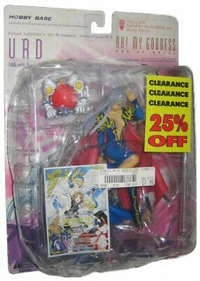 Ah! My Goddess Urd White Gold Red Variant Anime Action Figure - (Damaged Plastic