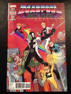 Deadpool Back In Black #2 NM 9.4 Grade High Grade Low Price!
