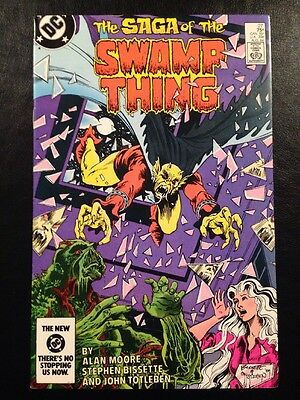 Swamp Thing #27 VF 8.0 Grade Alan Moore