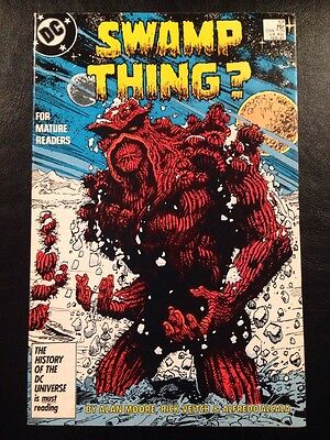 Swamp Thing #57 VF- 7.5 Grade Alan Moore