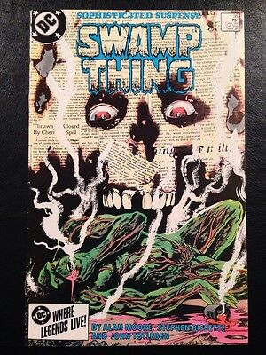 Swamp Thing #35 FN+ 6.5 Grade Alan Moore