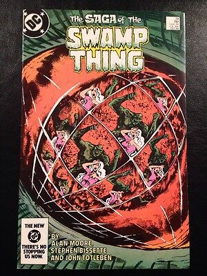 Swamp Thing #29 VF- 7.5 Grade Alan Moore