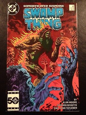 Swamp Thing #42 FN 6.0 Grade Alan Moore