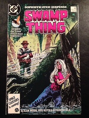 Swamp Thing #54 FN/VF 7.0 Grade Alan Moore