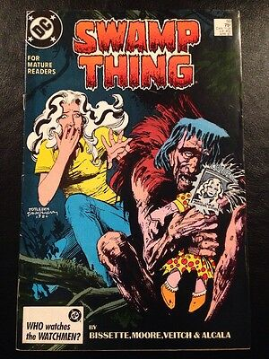 Swamp Thing #59 FN 6.0 Grade Alan Moore