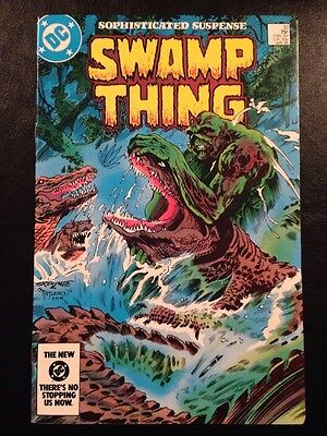 Swamp Thing #32 FN/VF 7.0 Grade Alan Moore