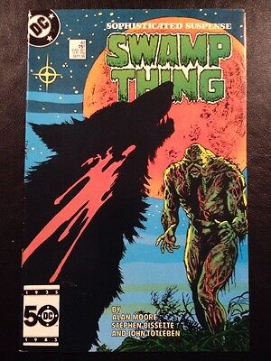 Swamp Thing #40 FN 6.0 Grade Alan Moore