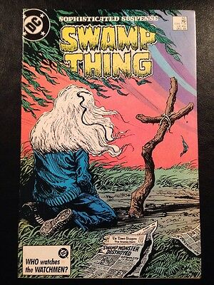 Swamp Thing #55 VF- 7.5 Grade Alan Moore