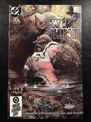 Swamp Thing #34 FN+ 6.5 Grade Alan Moore