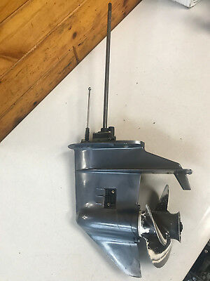 "1995 Yamaha 20 25 HP 2 Stroke Outboard Motor 20 "" Shaft Lower Unit Freshwater MN"