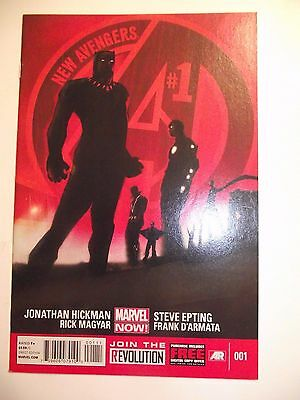 New Avengers #001 (3rd series 2013) Black Panther VF