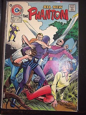 The Phantom #62 All New Adventures Charlton 1974 VG
