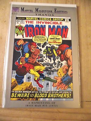 Marvel Milestone Edition Iron-Man #55 1st Thanos Drax reprint VF