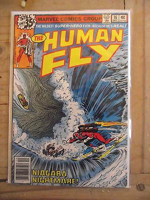 The Human Fly #16 Niagara Nightmare 1978 FN-