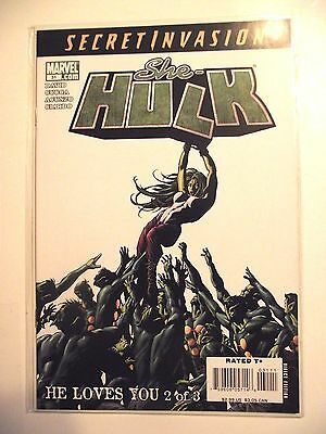 Marvel She-Hulk #31 Secret Invasion NM