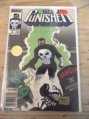 Punisher Unlimited Series #6 (1987) Newsstand edition VG- (3.5)