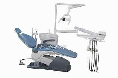 【USA Shipping】 Computer Controlled Dental Chair Unit A1 M4 Sky Blue Hard leather