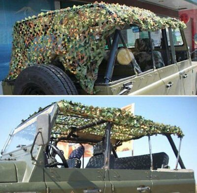 Camouflage Net Army Military Camo Net Car Covering Tent Hunting Blinds Netting X