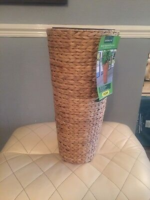 Brand New Indoor Only Whicker Plant Pot