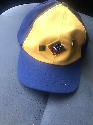 Cub Scout Wolf Adjustable Hat/Cap Size L & Two Wolf Pins