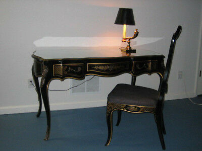 Drexel Louis XV French Writing Desk with matching Chair