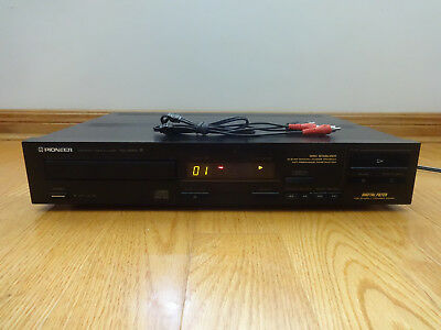Pioneer PD-4050 Single CD Compact Disc Player Japan 1987 TESTED 100% Works Great