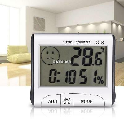 Digital LCD Outdoor Room Thermometer Hygrometer Max Min Temperature Humidity R