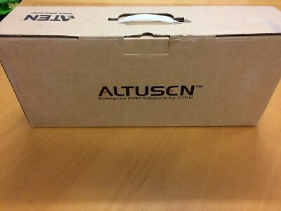 1*ATEN ALTUSEN KH1508A 8-port Cat 5 High-Density KVM Switch 4*KA7570 + 1*RS232.