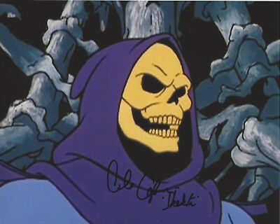Alan Oppenheimer Signed 'he-Man' Skeletor 8X10 Photo Coa Masters Of The Universe
