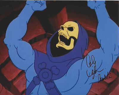 Alan Oppenheimer Signed He-Man Skeletor 8X10 Photo Coa Masters Of The Universe