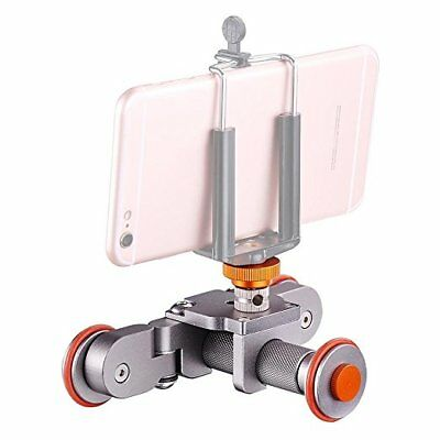 Motorized Electric Dolly Mini Car Skater Track Slider For DSLR Camera Video New